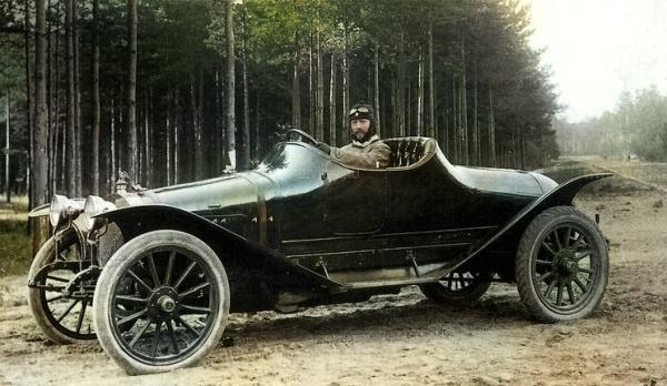 Автомобиль Руссо-Балт номер 2040
